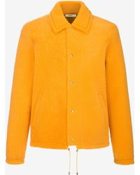 Bally - Shearling Blouson Jacket - Lyst