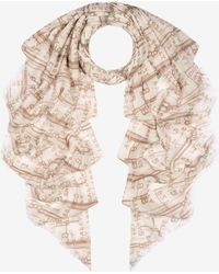 Bally - 1851 Chain Print Stole - Lyst