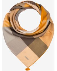 Bally - Gingham Square Scarf - Lyst