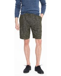 Banana Republic - Heritage Pleated Embroidered Short - Lyst