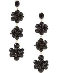 Banana Republic - Bead Cluster Statement Earring - Lyst