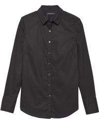 Banana Republic - Riley Tailored-fit Super-stretch Shirt - Lyst