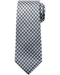 Banana Republic - Mini Check Silk Nanotex® Tie - Lyst