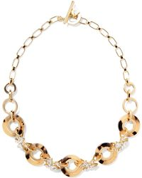 Banana Republic - Tortoise Rings Necklace - Lyst