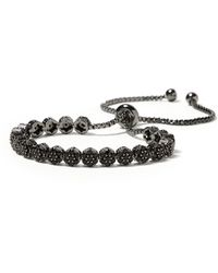 Banana Republic - Sparkle Circle Bracelet - Lyst