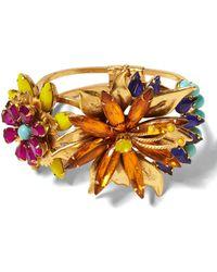 Banana Republic - Elizabeth Cole   Tropical Flower Bracelet - Lyst
