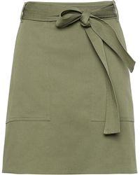 Banana Republic - Belted Utility Mini Skirt - Lyst