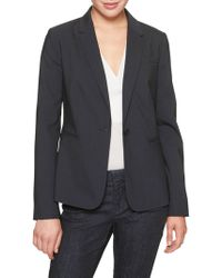 Banana Republic Factory - Machine Washable Lightweight Wool Classic Suit Blazer - Lyst