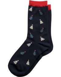 Banana Republic Factory - Xmas Tree Trouser Sock - Lyst