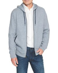 Banana Republic Factory - Quilted Full Zip Hoodie - Lyst