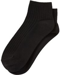 Banana Republic Factory - Cable Bootie Sock - Lyst