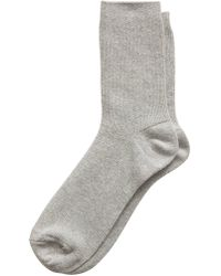 Banana Republic Factory - Metallic Trouser Sock - Lyst