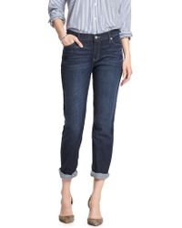 Banana Republic Factory - Petite Dark Girlfriend Jean - Lyst