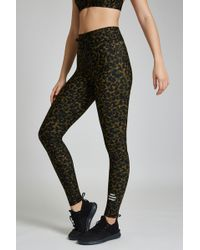 The Upside - Leopard Camo Matte Yoga Pant - Lyst