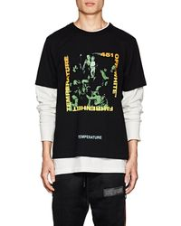 Off-White c/o Virgil Abloh - Caravaggio-inspired Cotton T - Lyst