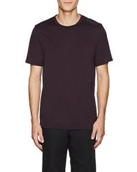 Theory - Claey Silk-cotton Jersey T-shirt - Lyst