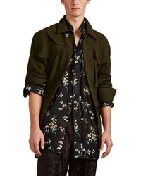 Haider Ackermann - Washed Wool Safari Jacket - Lyst