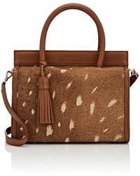 Cartujano España - Cofre Cotogross Calf Hair Mini Satchel - Lyst