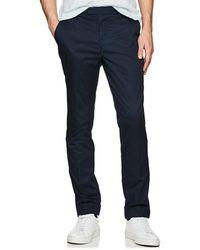 ATM - Cotton Poplin Cuffed Trousers - Lyst