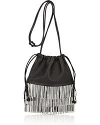 Alexander Wang - Ryan Mini Leather Dust Bag - Lyst