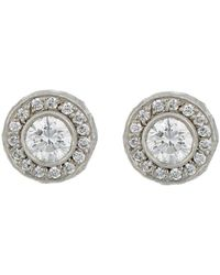 Malcolm Betts - Circular Stud Earrings - Lyst
