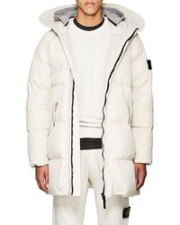 Stone Island - Down-quilted Crinkled Tech - Lyst