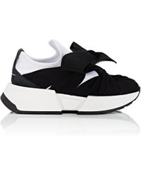 MM6 by Maison Martin Margiela - Intertwined-tie Tech-fabric Sneakers - Lyst