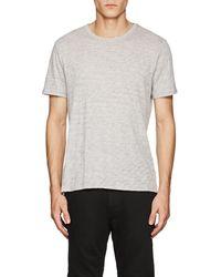 ATM - Slub Cotton-blend T-shirt - Lyst