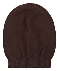 Rick Owens - Knit Cashmere Beanie - Lyst
