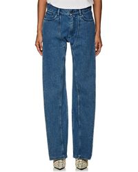 Y. Project - Leg Panel Straight Jeans - Lyst