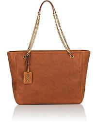 Saint Laurent - Niki Large Leather Shopping Bag - Lyst