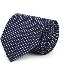 Ralph Lauren Purple Label - Polka Dot Silk Necktie - Lyst