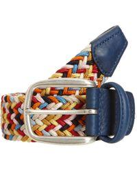 Barneys New York - Confetti Stretch Belt Size 40 - Lyst