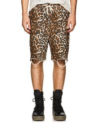 NSF - Distressed Leopard - Lyst