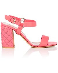Valentino - free Rockstud Spike Leather Sandals - Lyst