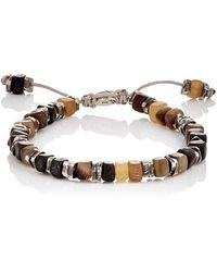 M. Cohen - Beaded Cord Bracelet - Lyst