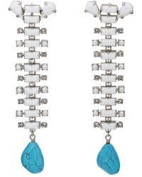 CALVIN KLEIN 205W39NYC - Western Drop Earrings - Lyst