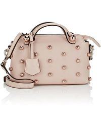 Fendi - By The Way Mini Leather Shoulder Bag - Lyst