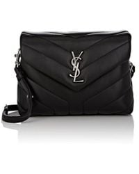 c2c4494915f4 Saint Laurent - Monogram Loulou Toy Leather Shoulder Bag - Lyst