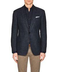 Giorgio Armani - soft Mélange Wool-blend Two - Lyst