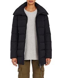 b4d109342 Moncler Petrea Down Jacket in Gray - Lyst