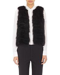 J. Mendel - Sequined-embellished Fur Vest - Lyst