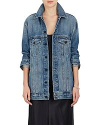 Alexander Wang - Daze Denim Oversized Jacket - Lyst
