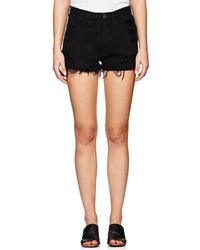 3x1 - W4 Carter Distressed Denim Cutoff Shorts - Lyst