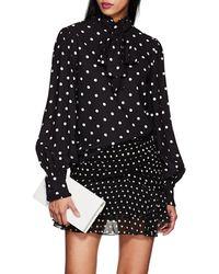 Vivetta - Arcimboldo Polka Dot Blouse Size 40 It - Lyst