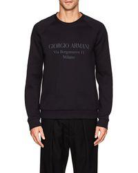 Giorgio Armani - Logo Cotton - Lyst