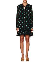 Proenza Schouler - Floral Silk Chiffon Minidress - Lyst