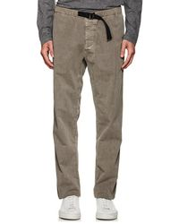 James Perse - Cotton Relaxed Belted Pants - Lyst