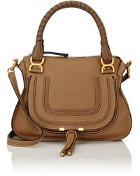 Chloé - Marcie Medium Satchel With Strap - Lyst