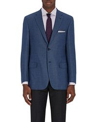Brioni - Ravello Neat Wool Two-button Sportcoat - Lyst